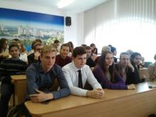26 вересня учні 9-х - 11-х класів відвідали конференцію, присвячену дню Європейських мов в Україні.