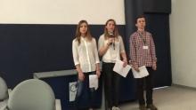 З 21 по 23 березня четверо учнів 9-х класів взяли участь у Міжнародній конференції з питань радіологічного виховання у місті Бастіа, Корсика.